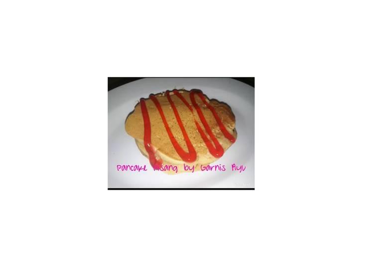 gambar untuk cara membuat Pancake Pisang tanpa Tepung