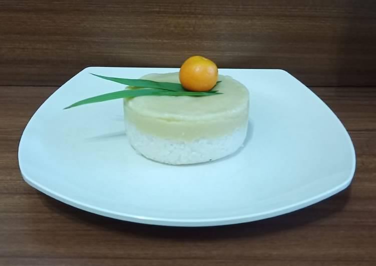 Kue talam ketan durian foto resep utama