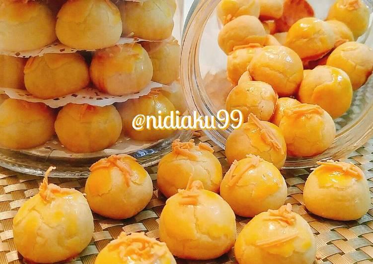 Resep Nastar golden yellow Karya Nidia