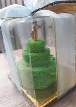 Mini bolu birthday (bolu tepung beras)