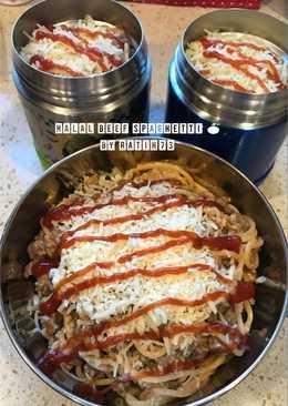 Halal Beef Spaghetti Bekal Anak