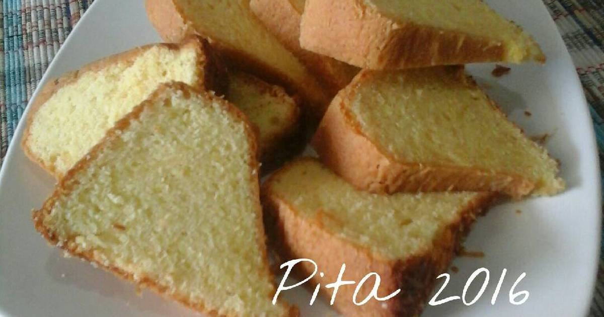 Resep Bolu keju anti gagal