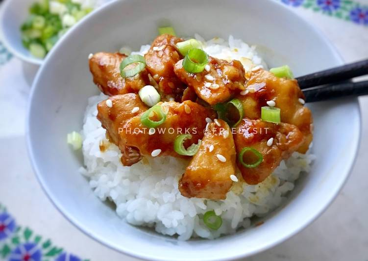 Easy sesame chicken 🐓 (#PR_AsianFood)