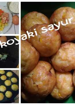 Takoyaki sayuran