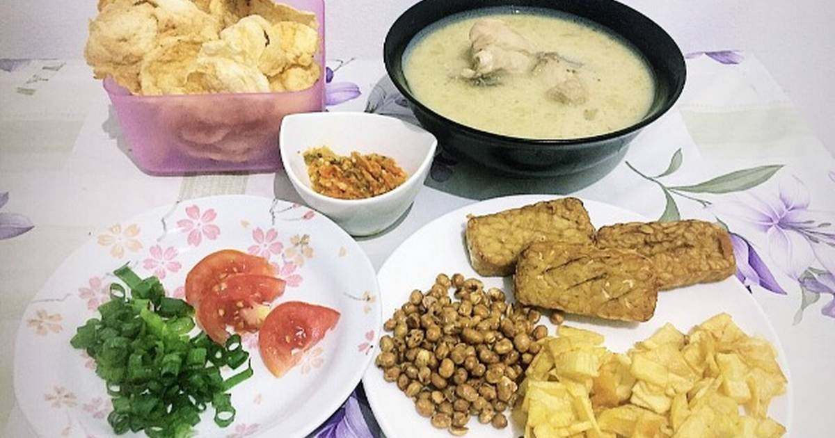 988 resep soto ayam santan enak dan sederhana - Cookpad