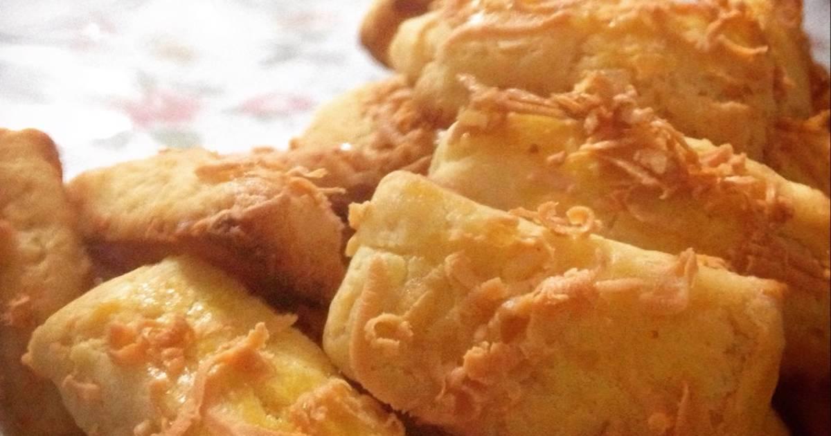 Resep Kastangel Cookies full of Keju 🍪