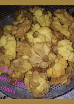 Cookies Bunga 🏵 (Semprit Jadul)