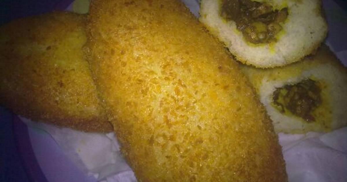 resep roti goreng isi kari daging oleh dian al rashyid