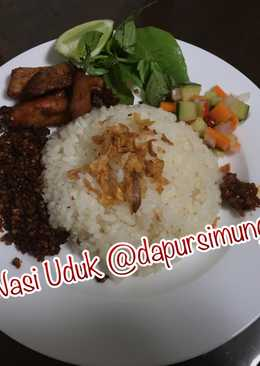 Nasi Uduk Rice Cooker Simple