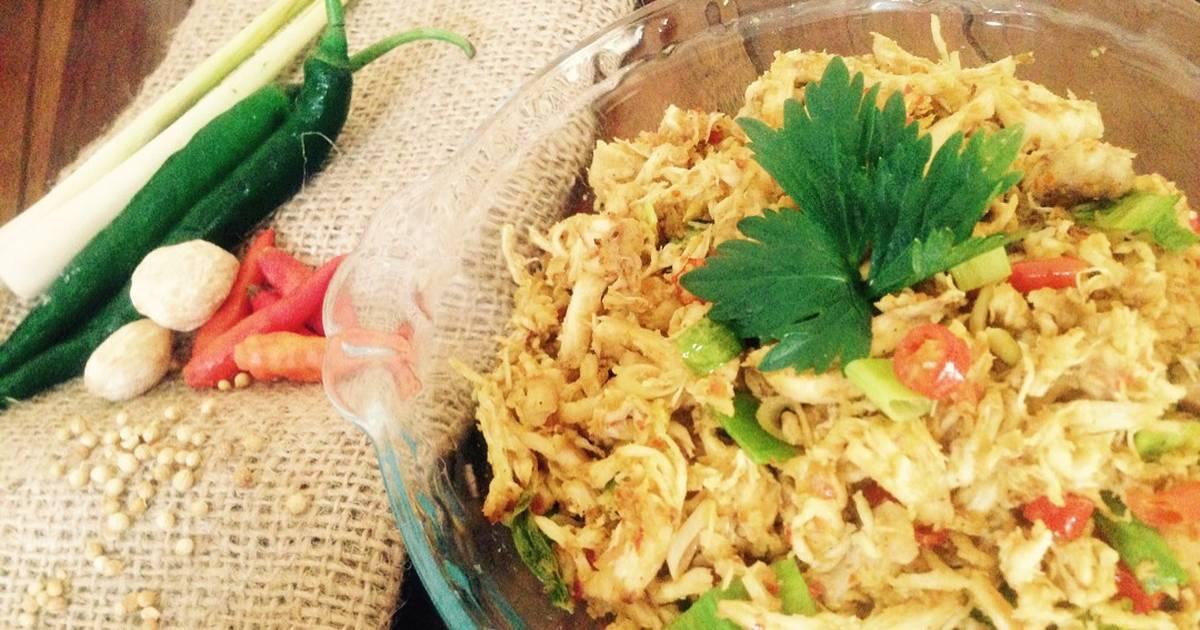 Resep Ayam Suwir Nina