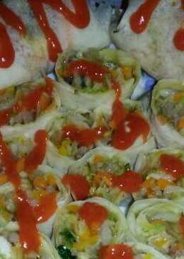 Kebab roll praktik ala rumahan