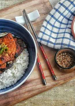 Chicken Teriyaki & Taoge ala Korea