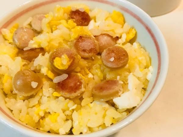 Nasi sosis telur #Maree
