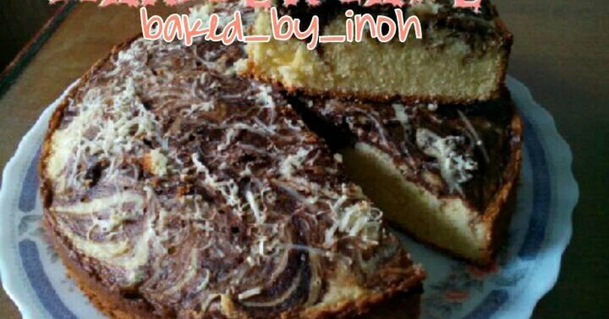 Resep Marmer cake
