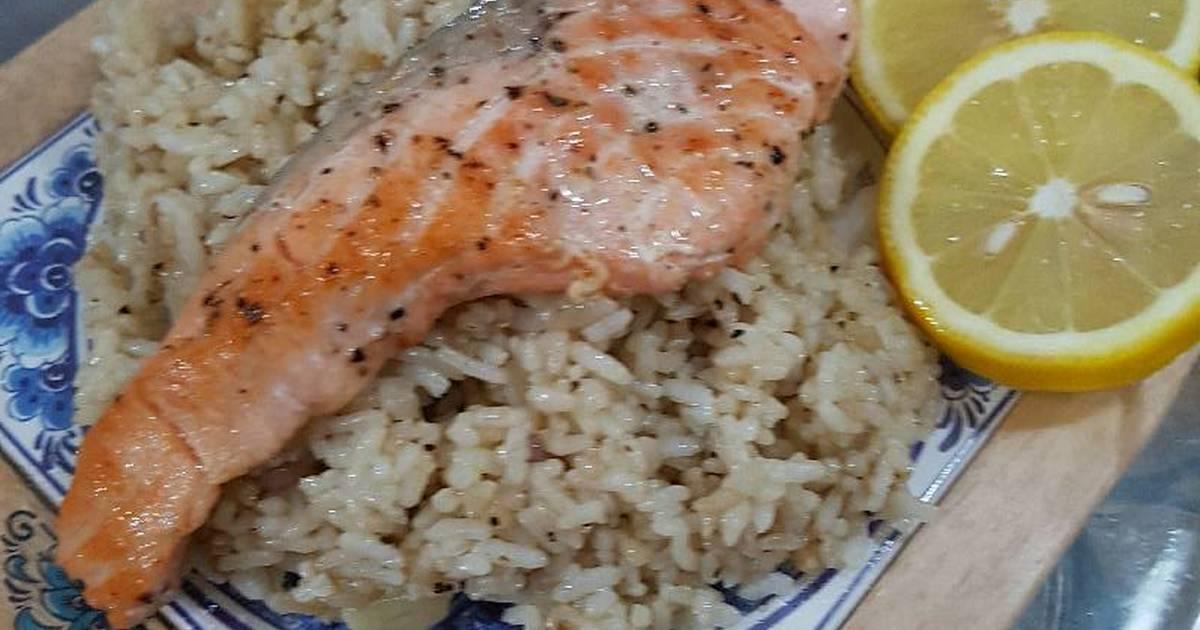 Nasi goreng salmon - 13 resep - Cookpad