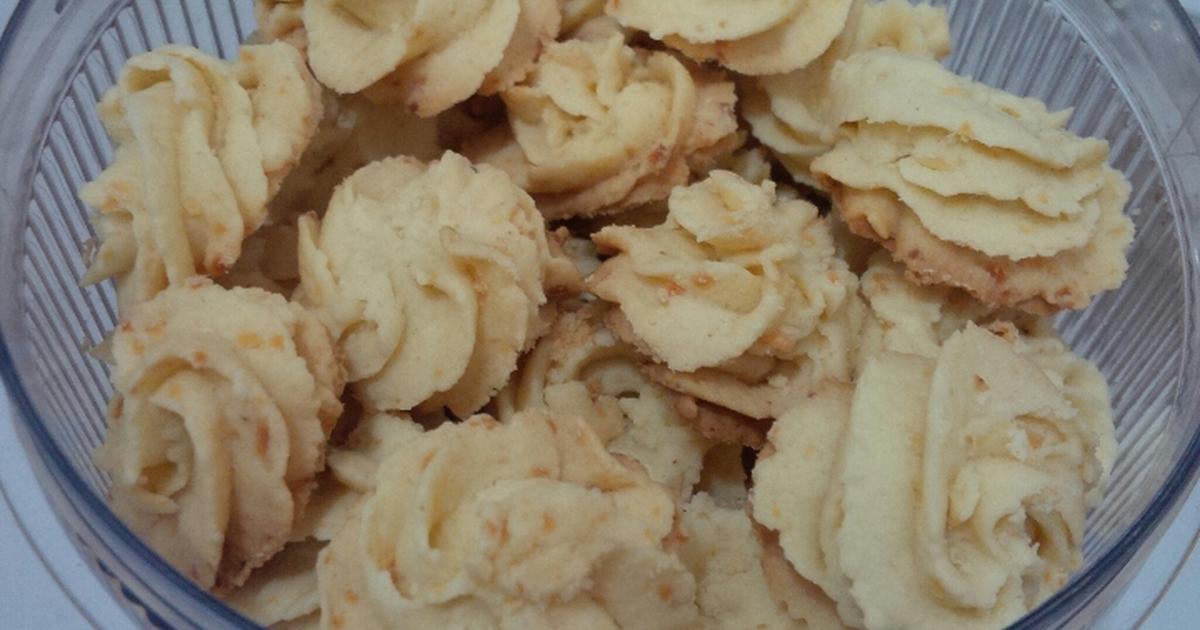 Resep Kue sagu suke crunchy