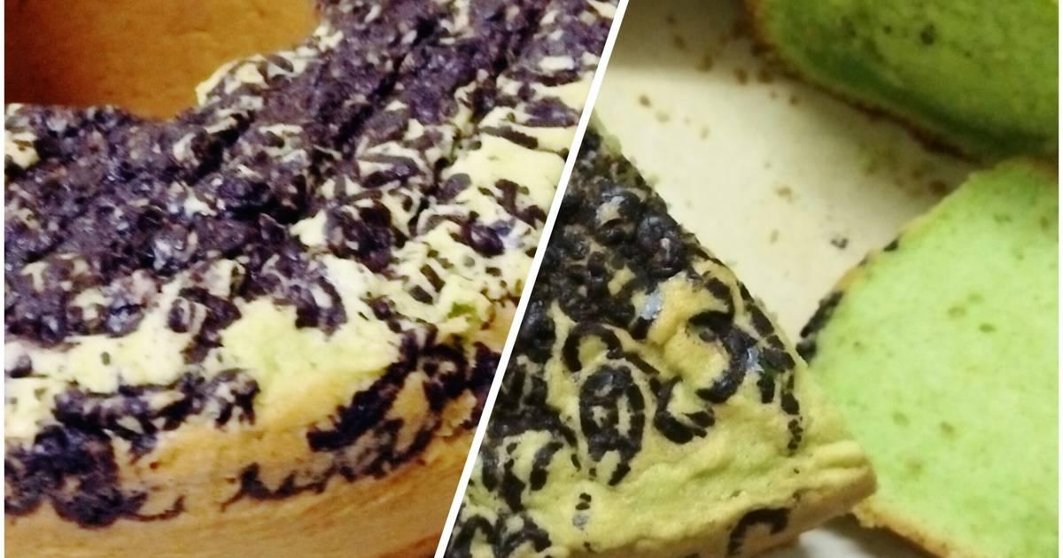 Resep Bolu Pandan moist Dark Cokelat