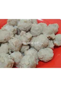 Bakso Sapi Kenyaal Enak (tanpa baking powder)