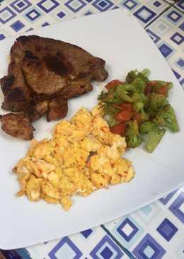Keto beef steak