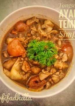 Tongseng Ayam Tempe Simple