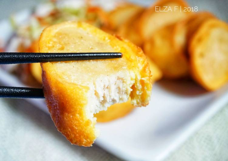 gambar untuk resep makanan Chicken Egg Roll