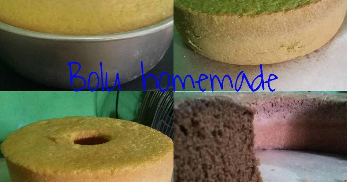 Resep Kue Bolu Homemade