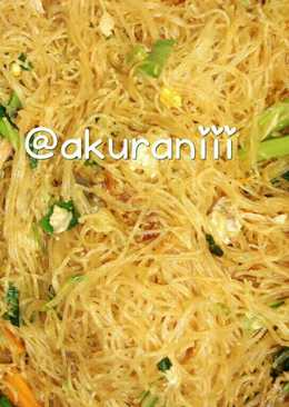 Bihun Goreng simple (u/ nasi uduk)