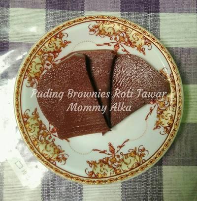 Puding Brownies Roti Tawar Mommy Alka