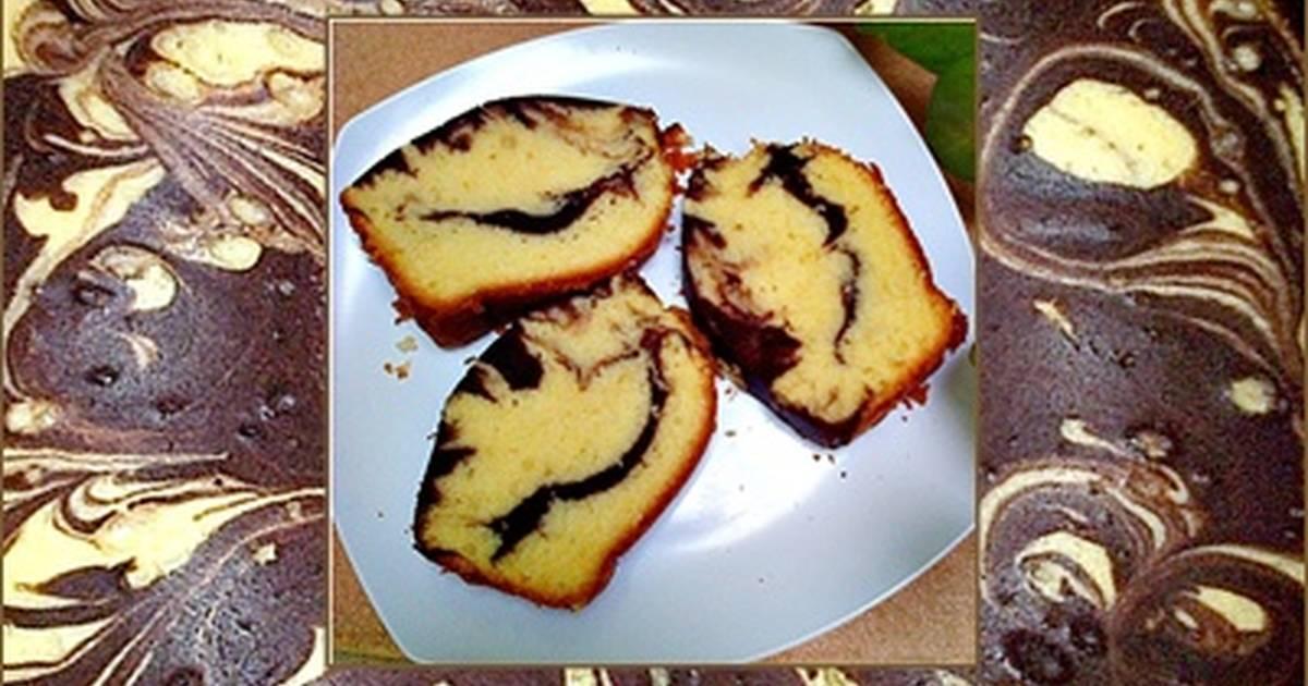 Resep MARMER CAKE 1/4