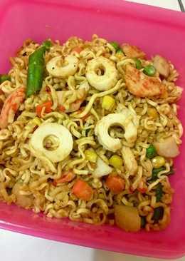 Mie tumis bakso seafood #bikinramadhanberkesan