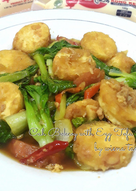 Cah Pokcoy with Egg Tofu