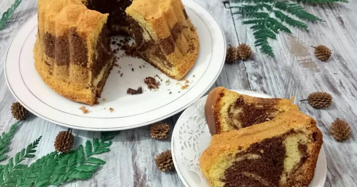Resep Cake Jadul Sederhana: 885 Resep Cake Marmer Lembut Enak Dan Sederhana