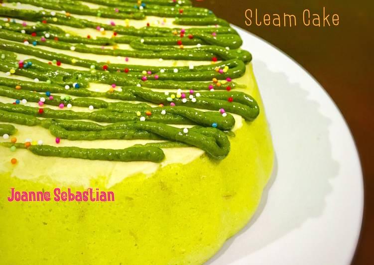Avocado Steam Cake