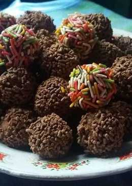 Resep Resep Kue Rambutan Meses Coklat Enak Resep Rempah