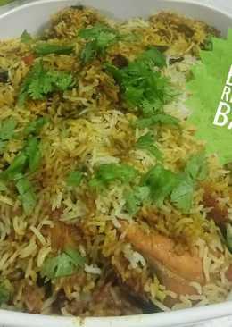 Chicken Biryani rice
