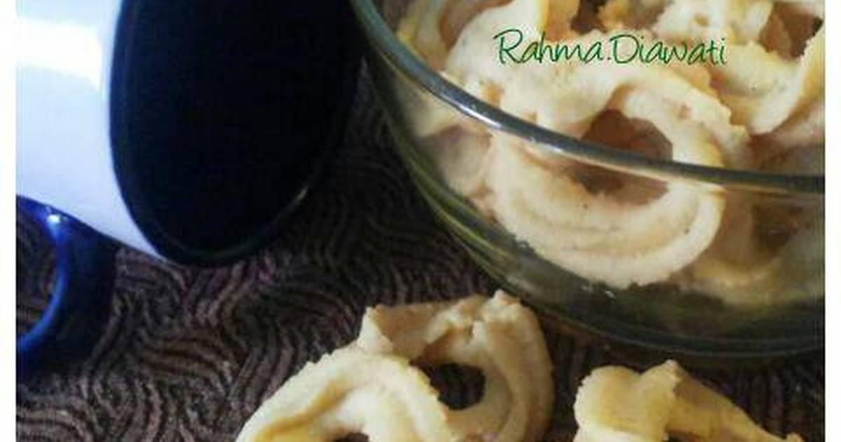 Resep Vanilla butter cookies