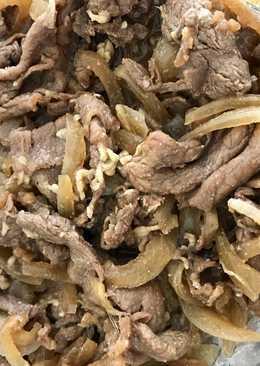 Beef Bowl (gyudon) ala YOSHINOYA - HALAL