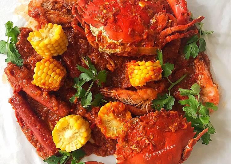 🦀KEPITING SAUS PADANG (Ala Dancing Crab)