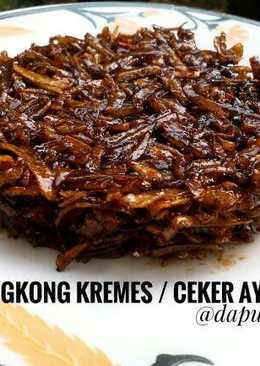 Kremes Ubi / Ceker Ayam #indonesiamemasak