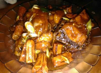 Ayam goreng bumbu BBQ