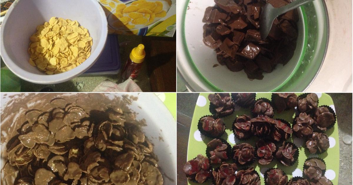 Resep Choco cornflake