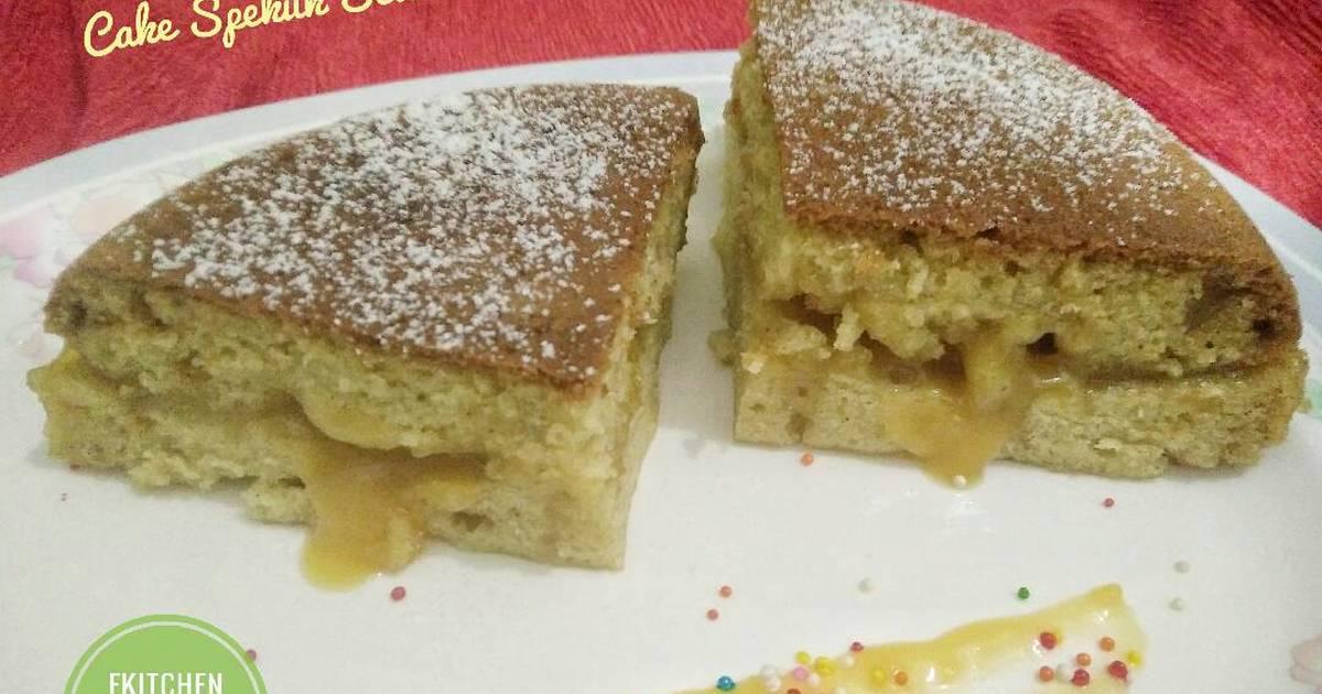 Resep Cake Kukus Lumer: Resep Cake Spekuk Selai Srikaya Lumer (no Mixer, No Oven