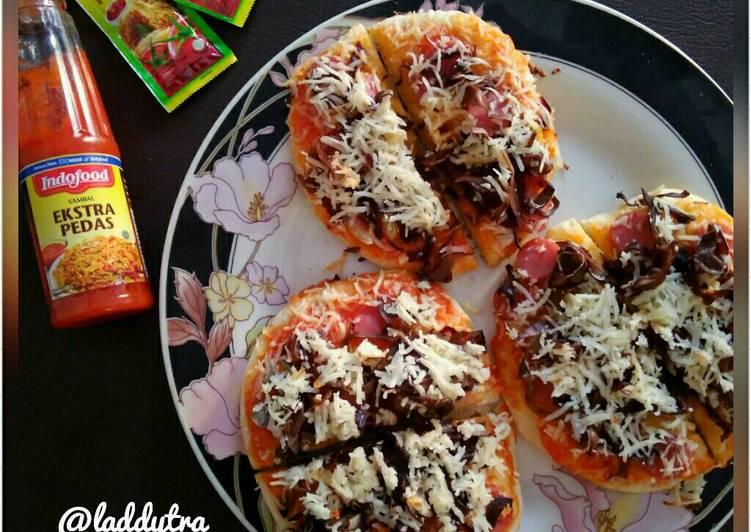 Resep Pizza Mini Teflon Kiriman dari laddytra