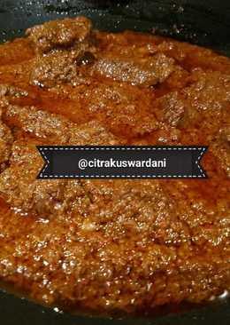 Rendang Padang (Rice Cooker)