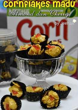 Cornflakes Madu Almond dan cherry