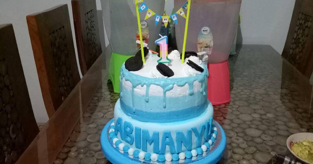 Birthday Fondant Cake Images