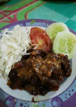 Sate goreng kambing 💓