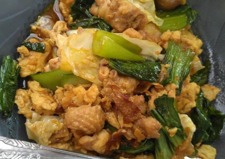 Resep Oseng telur ayam sayur (diet DEBM) Oleh Liena_ox