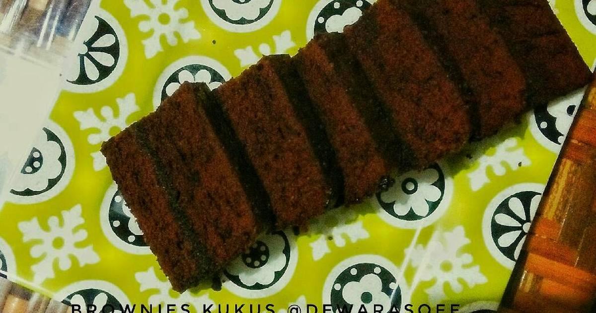 Resep Cake Kukus Lumer: Resep Brownies Kukus Oleh Dewatipuspitasari