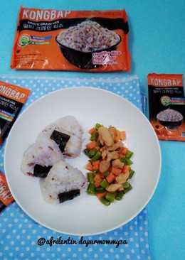 Onigiri Kongbab isi Chicken Yakiniku